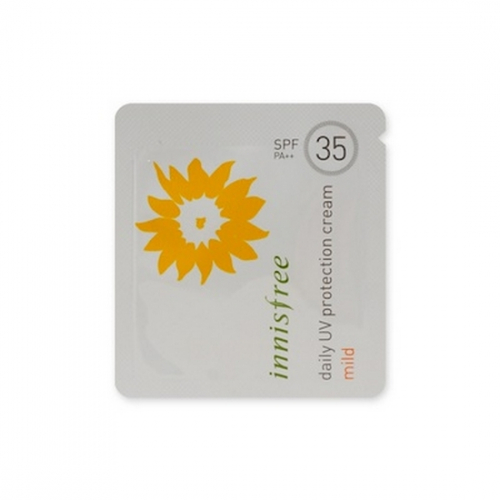 Combo 5 Kem Chống Nắng Dưỡng Ẩm Innisfree Daily UV Protection Cream Mild SPF35 PA++ - Dùng thử