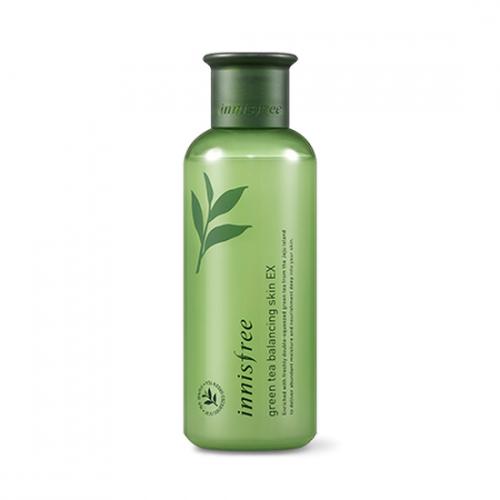 Nước Hoa Hồng Innisfree Trà Xanh Green Tea Balancing Skin EX 200ml