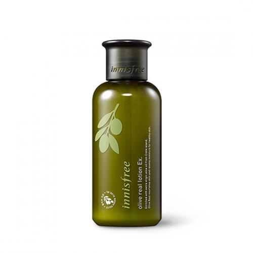 Sữa Dưỡng Chiết Xuất Oliu Vàng Dành Cho Da Khô Innisfree Olive Real Lotion EX 160ml