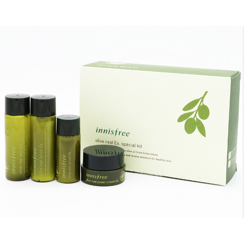 BộDưỡng Da Dùng Thử Olive Innisfree Olive Real Ex. Special Kit (4 SẢN PHẨM)