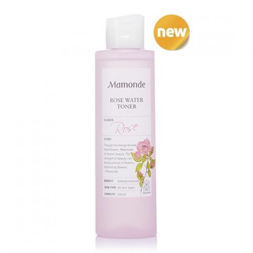 Nước Hoa Hồng Dưỡng Ẩm Mamonde Rose Water Toner 250ml
