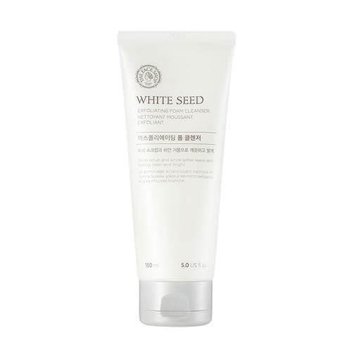 [BIG SALES] Sữa Rửa Mặt Tẩy Tế Bào Và Dưỡng Trắng Da Trị Nám The Face Shop White Seed Exfoliating Foam Cleanser 150ml