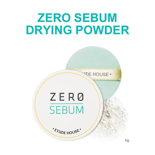 Phấn Phủ Bột Kiềm Dầu Etude House Zero Sebum Drying Powder 6g