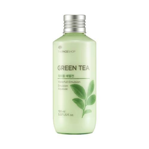 Sữa Dưỡng Da Kiềm Dầu Trà Xanh The Face Shop Waterfull Green Tea Emulsion 150ml