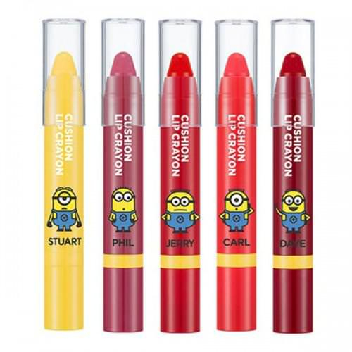 [Đồng Giá 99K] Son Dưỡng Có Màu Lâu Trôi Missha Cushion Lip Crayon (Phiên Bản Minion)