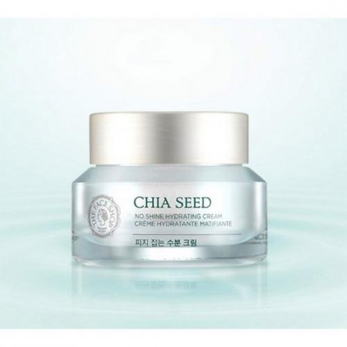 Kem Dưỡng Ẩm Kiềm Dầu The Face Shop Chia Seed No Shine Hydrating Cream 50ml (Phiên bản mới 2016)