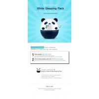 [BIG SALES] Mặt Nạ Ngủ Dưỡng Trắng Da Tonymoly Panda's Dream White Sleeping Pack 50g