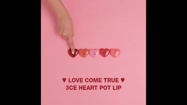 Son Dưỡng Hình Trái Tim 3CE Heart Pot Lip