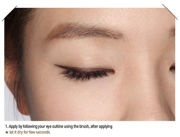 Kẻ Mắt Nước Không Lem 3CE STYLENANDA LIQUID EYE LINER - Màu Nâu (Brown)