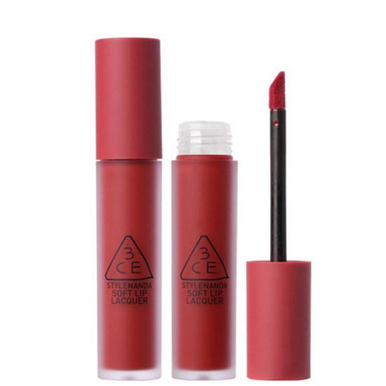 Son Kem 3CE Màu Mới Soft Lip Lacquer