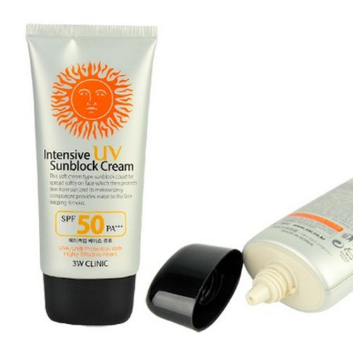 Compo 2 Kem Chống Nắng 3W Clinic Intensive UV Sunblock Cream Spf 50+/Pa+++ 70ml