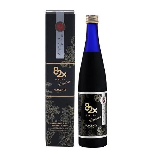 Nước Uống Trắng Da, Cân Bằng Nội Tiết 82X Sakura Placenta 500ml
