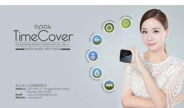 [BEST] Phấn Nước Kiềm Dầu Và Che Phủ Hoàn Hảo Apal Time Cover Foundwear Serum Cushion SPF50+ PA+++ - #Tone Tự Nhiên