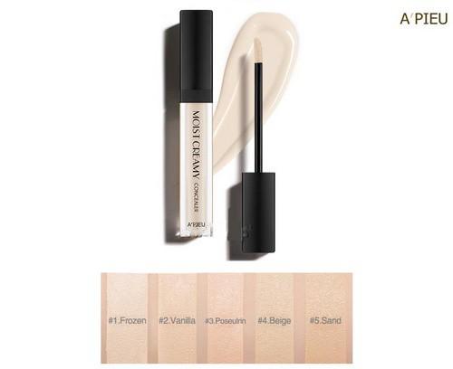 Kem Che Khuyết Điểm Apieu Moist Creamy Concealer SPF30 PA++ 7g