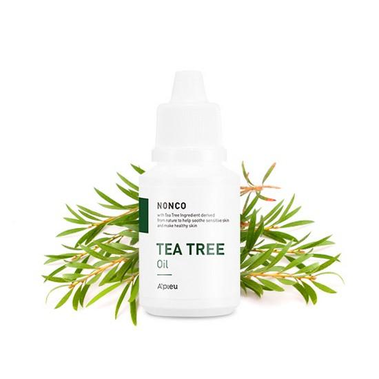 Tinh Chất Chăm Sóc Da Mụn Chiết Xuất Từ Dầu Tràm Trà A'pieu Nonco Tea Tree Oil