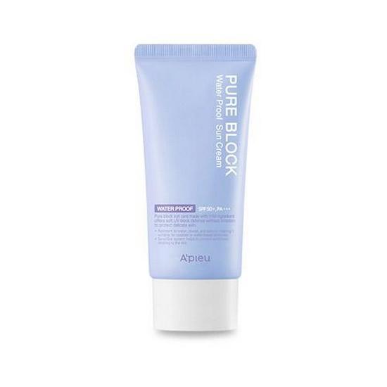 Kem Chống Nắng Chống Thấm Nước A'Pieu Pure Block Natural Sun Cream Water Proof Spf 50+ Pa+++ 50ml