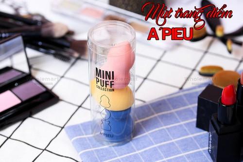Bộ Mút Trang Điểm Mini Apieu Mini Puff Collection