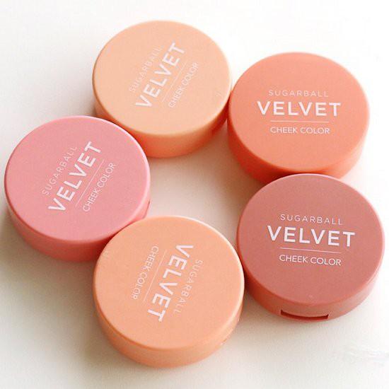 Phấn Má Hồng Aritaum Sugarball Velvet Cheek Color 8g (Kèm theo cọ đánh má)