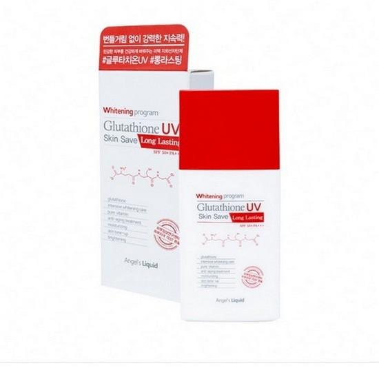 Kem Chống Nắng Glutathione UV Skin Save SPF50+ PA+++ Angel's Liquid Hàn Quốc