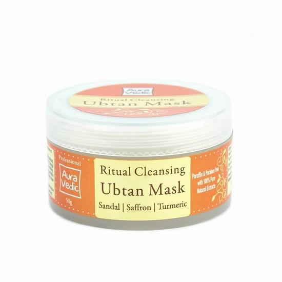 Mặt Nạ Nghệ Tây Trị Mụn Sáng Da Aura Vedic Ubtan Mask 50g