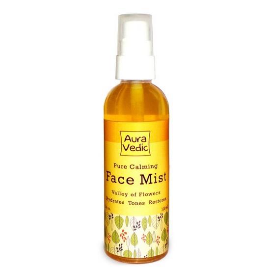 Xịt Khoáng Dưỡng Ẩm Và Làm Dịu Da Auravedic Pure Calming Face Mist 100ml