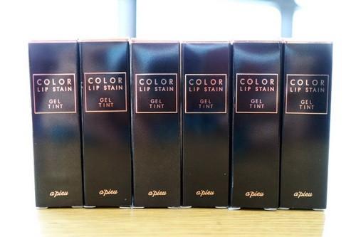 Son Tint Có Dưỡng Lâu Trôi Apieu Color Lip Stain Gel Tint