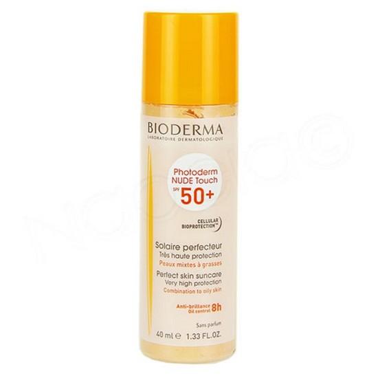 Kem Chống Nắng Che Khuyết Điểm Bioderma Photoderm Nude Touch SPF 50+