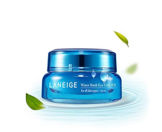 review kem dưỡng mắt laneige water bank eye gel ex