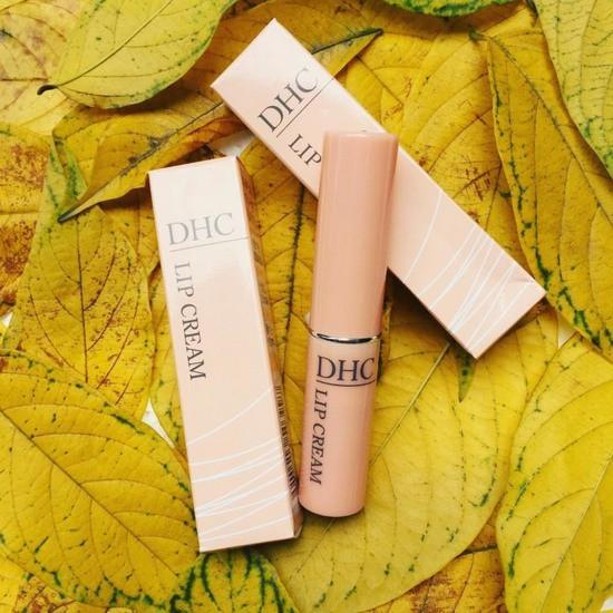 review son dưỡng môi dhc lip cream