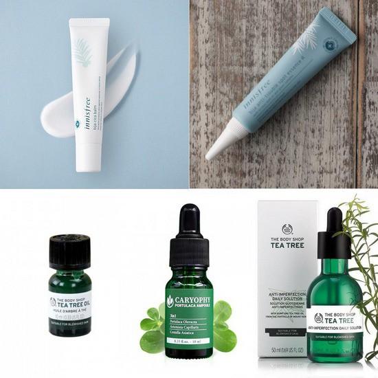 top 5 sản phẩm trị mụn được đánh giá cao trong năm qua