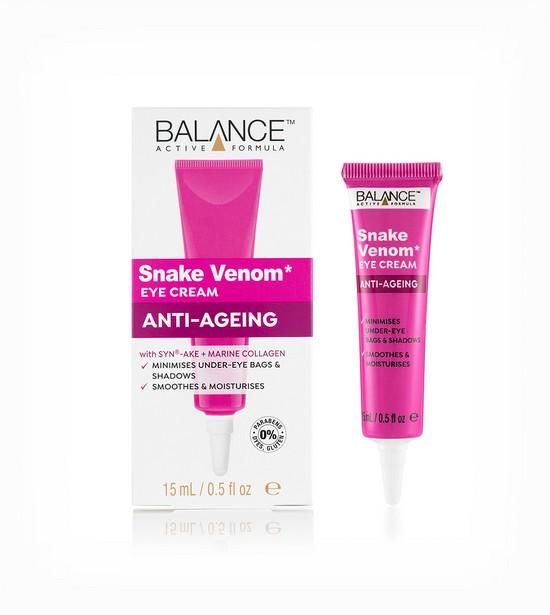 Kem Dưỡng Mắt Chống Lão Hóa Balance Active Formula Snake Venom Eye Cream Anti Ageing