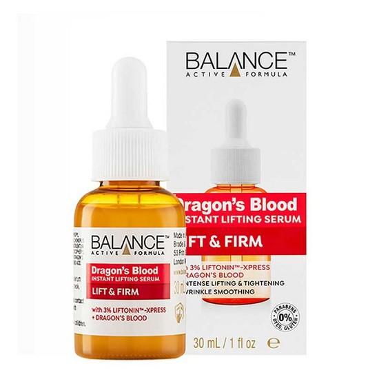 Tinh Chất Nâng Cơ, Cải Thiện Nếp Nhăn Balance Active Formula Dragons Blood Instant Lifting Serum 30ml