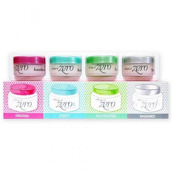 Bộ Sáp Tẩy Trang Banila Co. Clean It Zero Special Kit Dùng Thử (4 Sản phẩm)