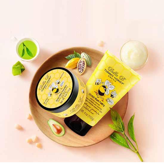 Bộ Đôi Ngăn Ngừa Và Điều Trị Rạn Da Cho Mẹ Bầu Bella B Tummy Honey Butter Và Bella B Tummy Honey Cream