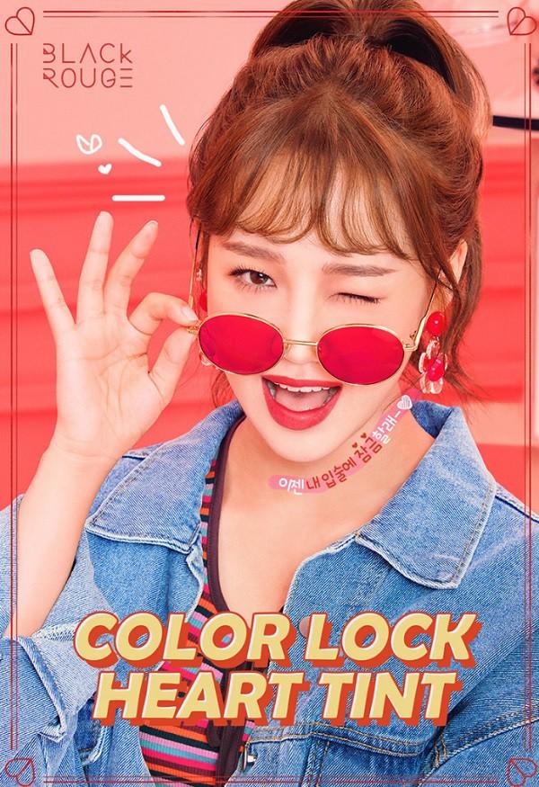 Son Tint Lì Siêu Mịn Lên Màu Chuẩn Black Rouge Color Lock Heart Tint 3.5ml