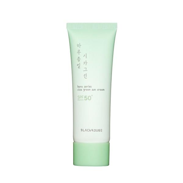 Kem Chống Nắng Dịu Nhẹ Black Rouge Haru Series Cica Green Sun Cream SPF50+ PA+++ 50ml