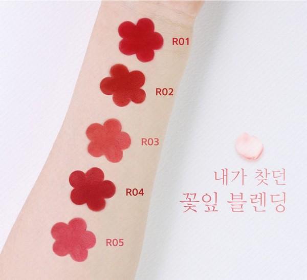 [HOT] Son Thỏi Siêu Lì Mềm Mịn Môi Black Rouge Rose Velvet Lipstick