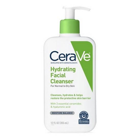 Sữa Rửa Mặt Cho Da Thường Và Da Khô CeraVe Hydrating Facial Cleanser