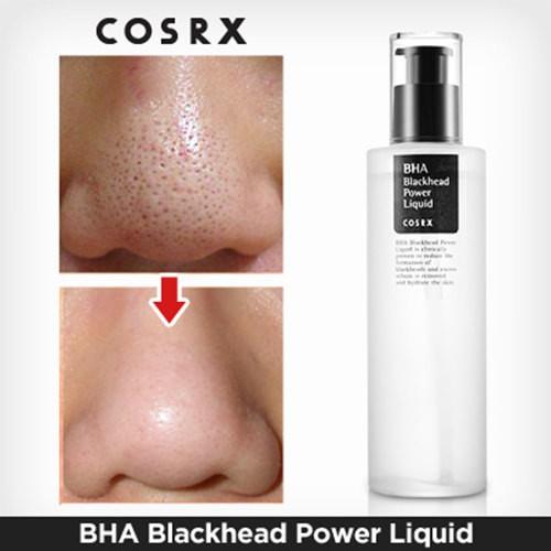 Tẩy Da Chết Trị Mụn Đầu  Đen Cosrx Bha Blackhead Power Liquid 100ml