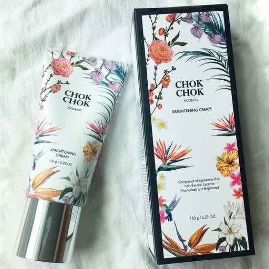 [HOT] Kem Ủ Dưỡng Trắng Da Toàn Thân Chok Chok Brightening Cream 150g