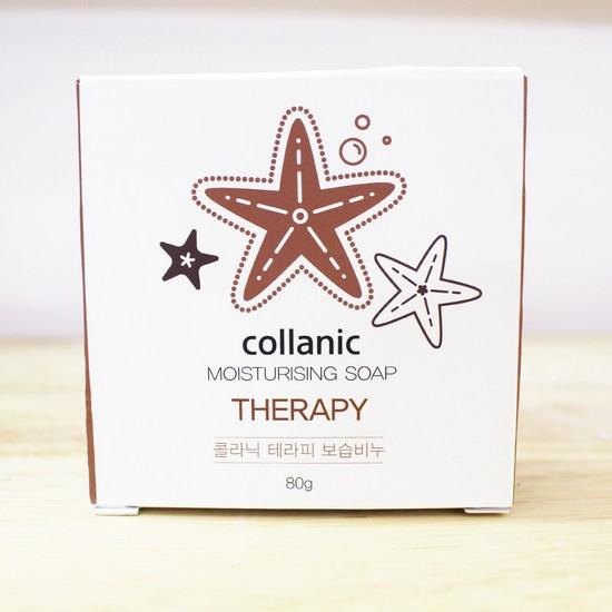 [BIG SALE] Xà Phòng Collagen Phục Hồi Và Cải Thiện Làn Da Lão Hóa Không Đều Màu Amur Collanic Moisturising Soap Therapy 80g