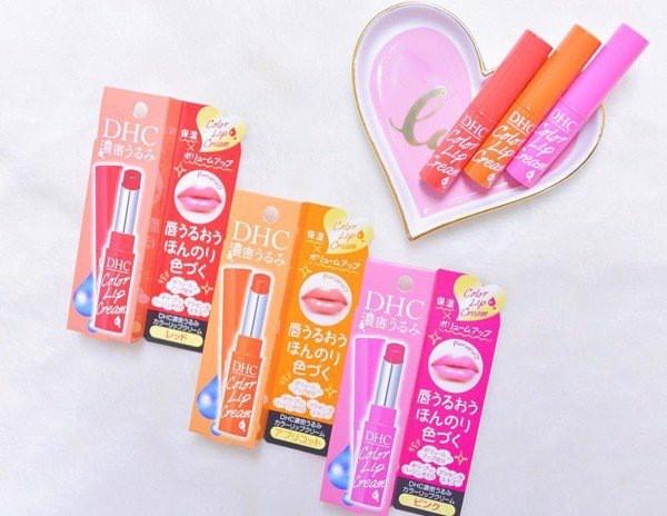 Son Dưỡng Có Màu Mềm Mịn Môi DHC Color Lip Cream