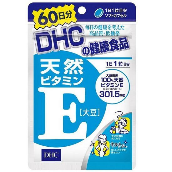 Viên Uống DHC Bổ Sung Vitamin E Từ Nhật Bản 60 Viên