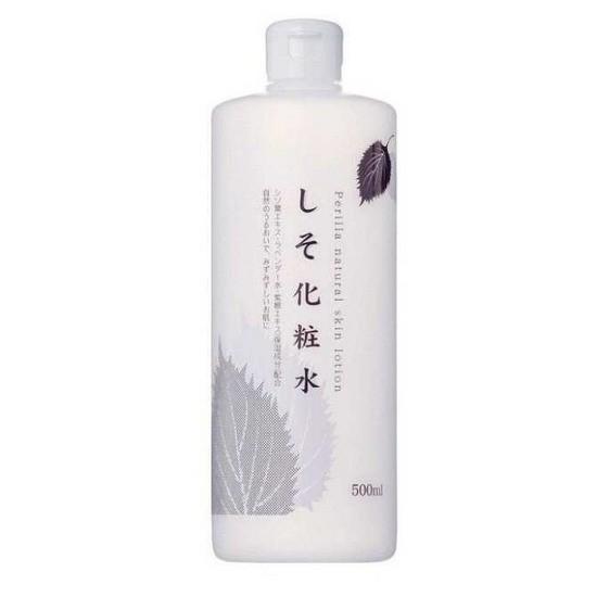 Nước Hoa Hồng Chiết Xuất Lá Tía Tô Dokudami Perilla Natural Skin Lotion 500ml
