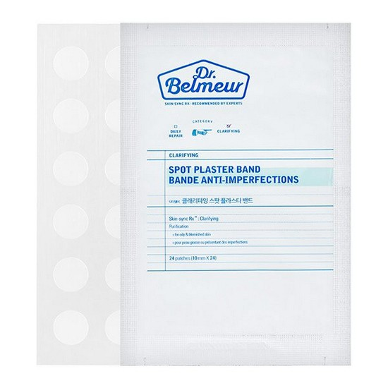 Miếng Dán Mụn Hiệu Quả Nhanh The Face ShopDr.Belmeur Clarifying Spot Plaster Band Bande Anti – Imperfections