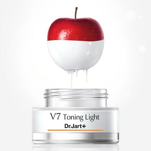 Kem Dưỡng Nâng Tông Da Trắng Sáng Và Tái Tạo Da Dr.Jart+ V7 Toning Light Now 15ml (Dùng Thử)