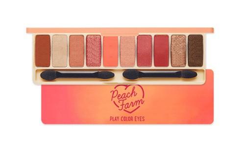 Bảng Phấn Mắt 10 Màu Ngọt Ngào Etude House Play Color Eyes #Peach Farm