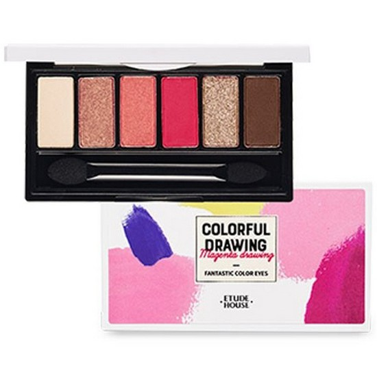 Bảng Phấn Mắt Etude House Colorful Drawing Fantastic Color Eyes