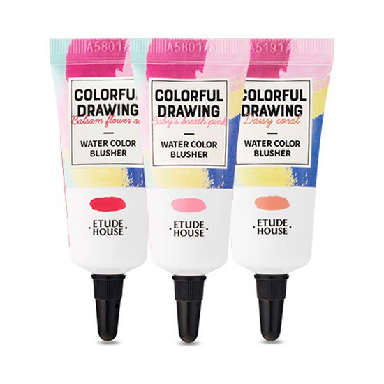 Má Hồng Dạng Kem Etude House Colorful Drawing Water Color Blusher