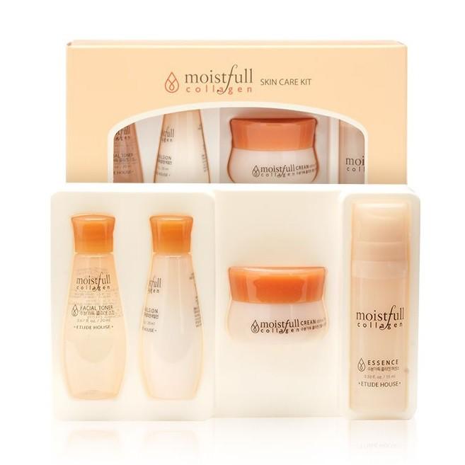 Bộ Dưỡng Ẩm Da Etude House Moistfull Collagen Skin Care Kit (Dùng Thử)